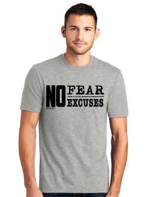 Blue No Fear T-Shirt