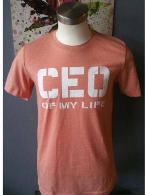 Peach CEO Of My Life T-Shirt